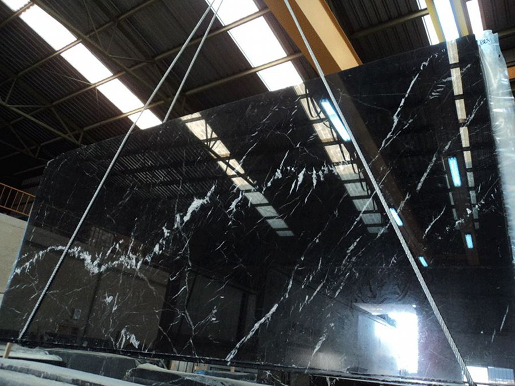Blue land stones for Marmol negro marquina