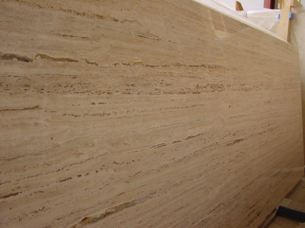 Marmol travertino clasico quotes for Placa de marmol travertino